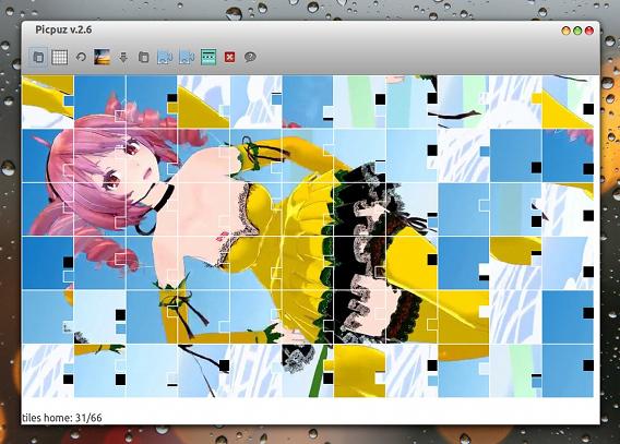 picpuz Ubuntu ゲーム ジグソーパズル