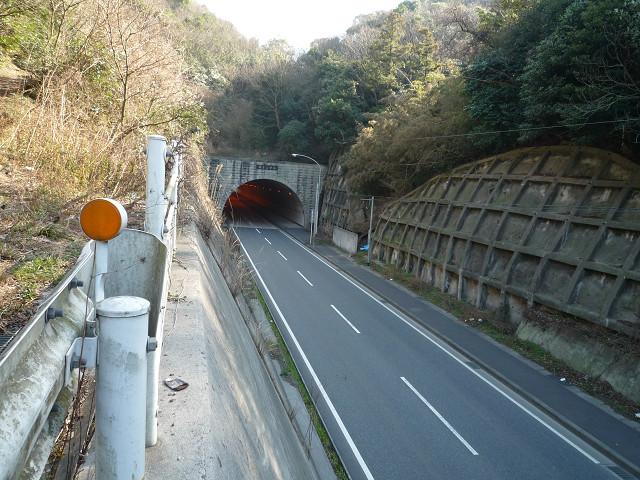 旧椿トンネル1