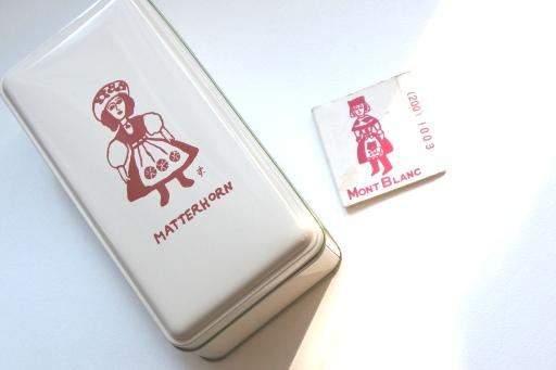 マッターホルンの缶と