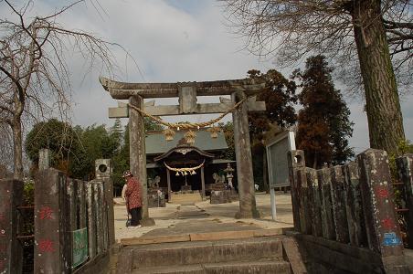 秋津の神社