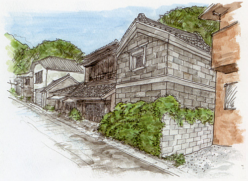 浦賀名物・挿し絵01