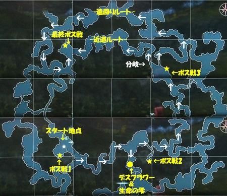 神木に捧ぐ祈り前編map