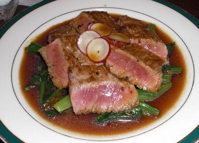 豊後牛のステーキ 1000円