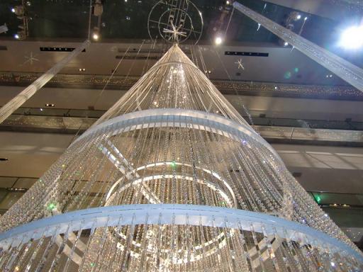立派なクリスマスツリーがありましたよ~