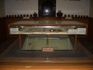 ガンジー記念博物館-最期の着衣