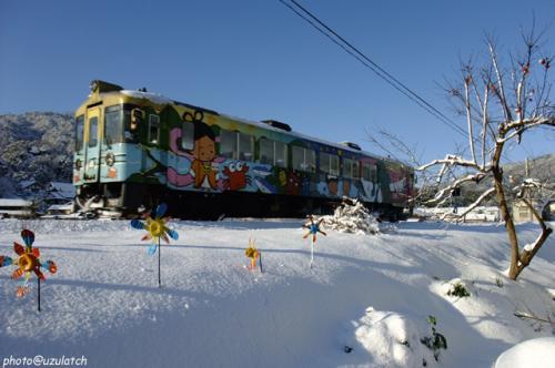 雪原の列車