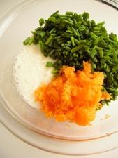ベースは薄力粉ではなく山芋。ほとんど野菜!