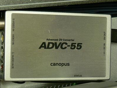 canopus ADVC-55 アナログ・デジタルコンバーター