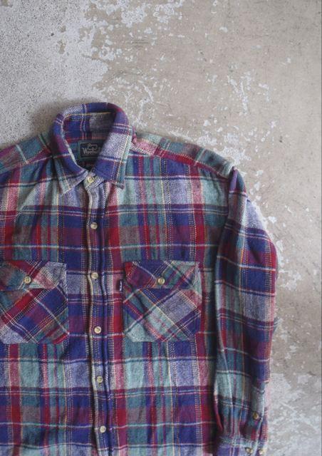 ネルシャツ10
