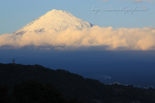 富士川から富士山