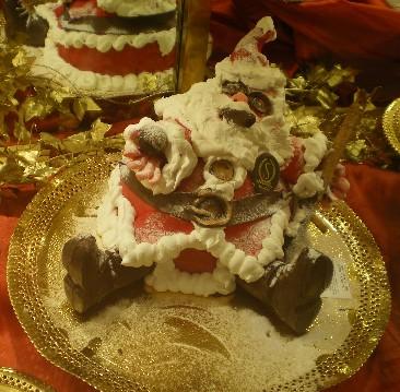 クリスマス三太ケーキ
