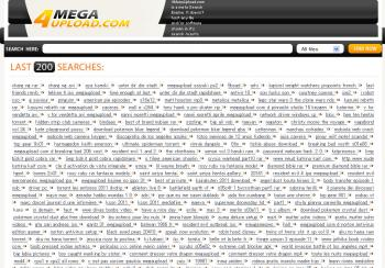 超簡単 ファイルを探す 4megaupload