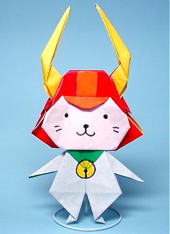 クリスマス 折り紙 : 折り紙キャラクターの折り方 : matome.naver.jp