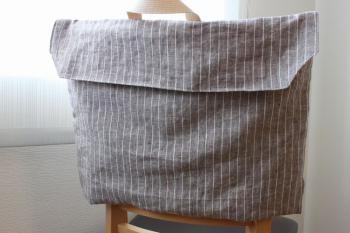 防災頭巾カバー表