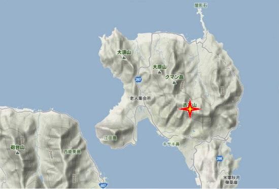 1)江田島町北部・古鷹山