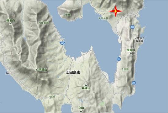2)江田島町南部・中央・奥小路水源地
