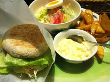 熱帯食堂 エビバーガー