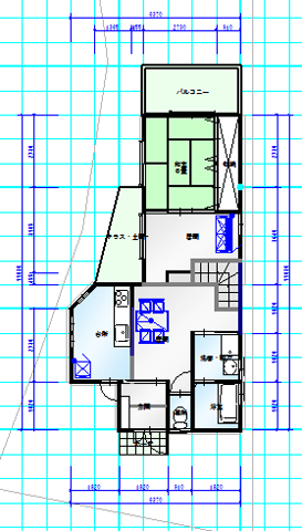 和室独立 1階