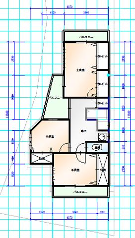 和室独立 2階