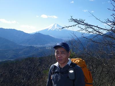 高川山頂上