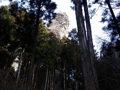 子持山屏風岩2