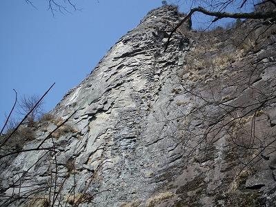 獅子岩南面フェース