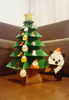 パンダさんのクリスマスツリー