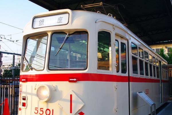 旧都電5501