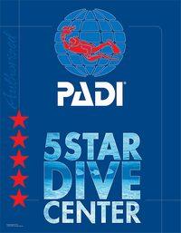 PADI 5スターダイブセンター
