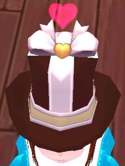 チョコ帽子 ハート 2