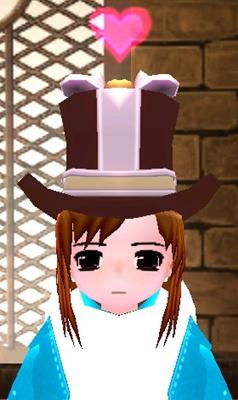 チョコ帽子 ハート 1