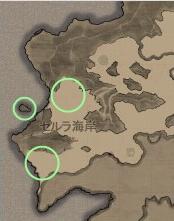 ピシスマップ セルラ海岸