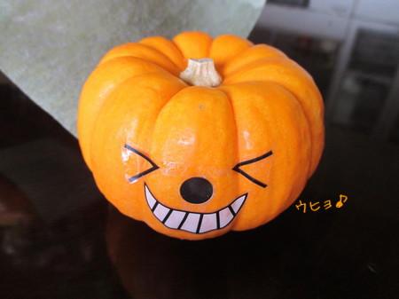 ハロウィンかぼちゃ。