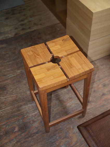 039 寄木椅子