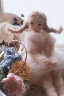 羊毛のドール