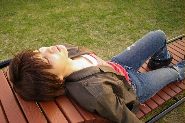 2009年4月15日 晴ちゃん男装