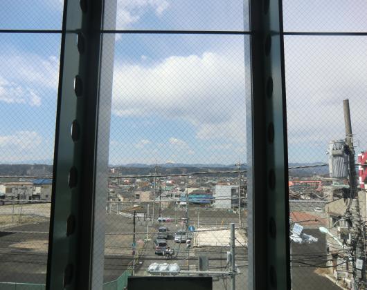 拝島駅より富士山遠望