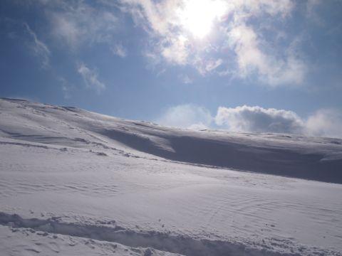 三段山稜線