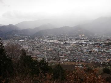 渋沢丘陵からの表尾根100227