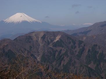100322大山からの富士・南ア
