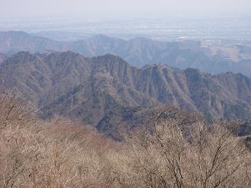 100322大山からの三峰