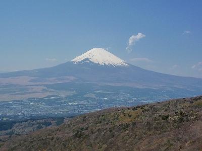 秀麗という言葉がふさわしい富士山