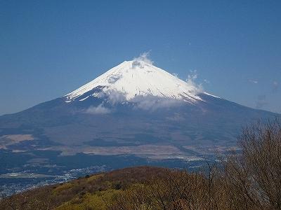 上天気に恵まれ富士山がよく見えました