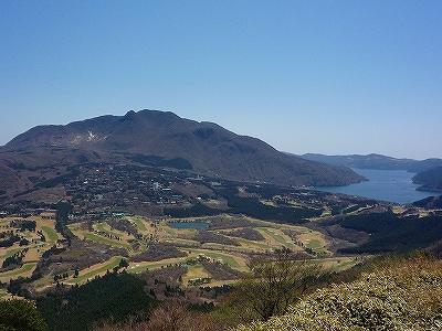 中央火山の冠ヶ岳・神山・駒ケ岳