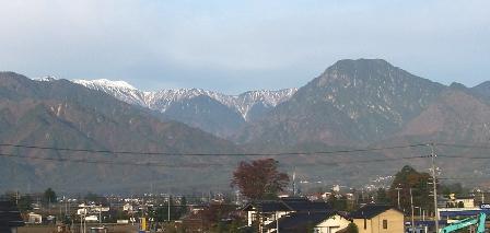 大天井岳(11月5日)