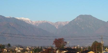 大天井岳(11月6日)