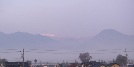 大天井岳(11月9日)