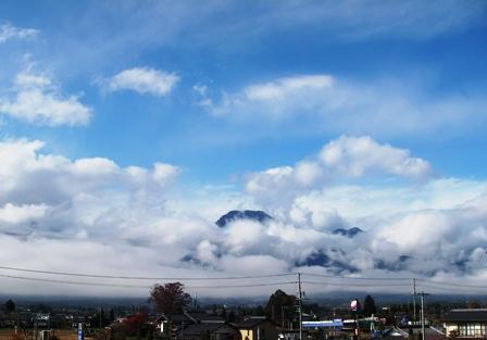 雨上がりの大天井岳2