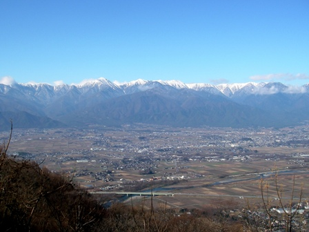 安曇野と常念山脈
