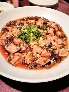 上海風麻婆豆腐